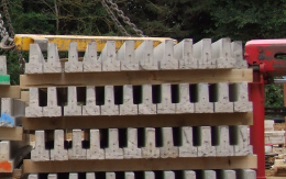 Stacking, Storage & <br/>Placement of Beams
